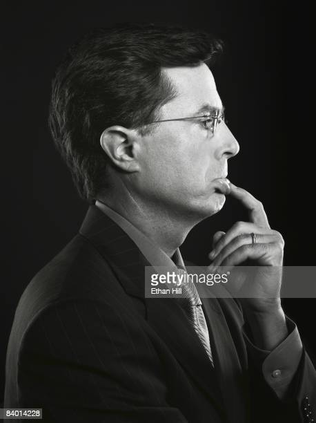 Host Stephen Colbert poses at a portrait session in New York City