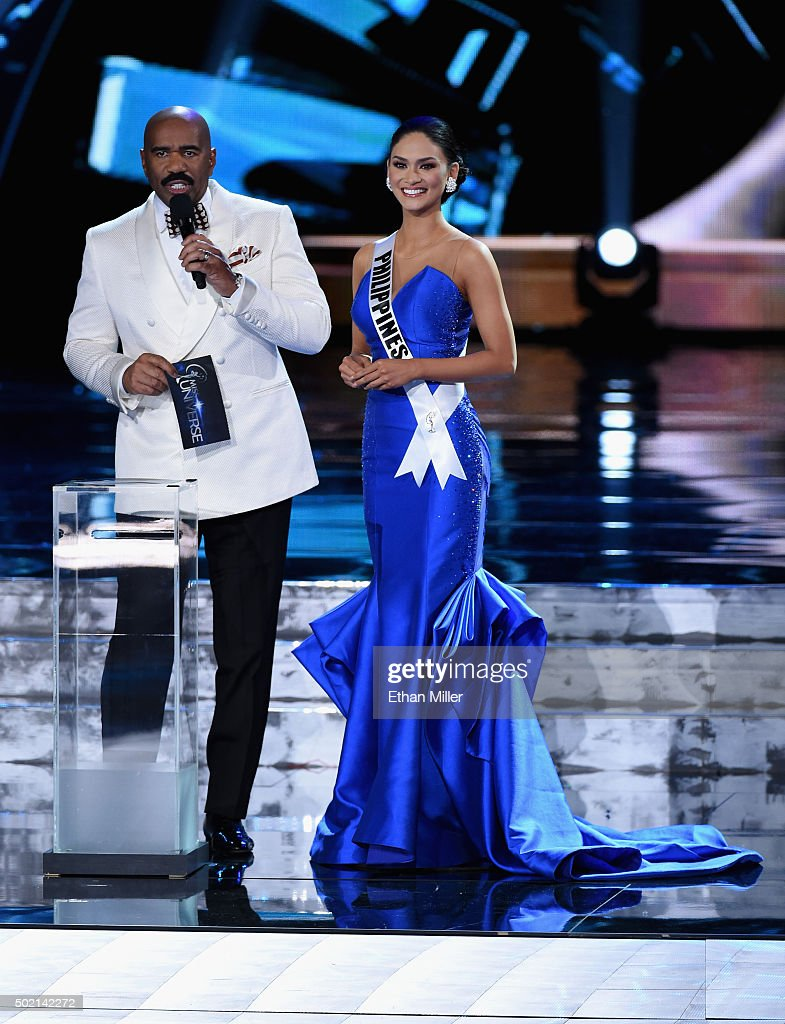 The 2015 Miss Universe Pageant : News Photo