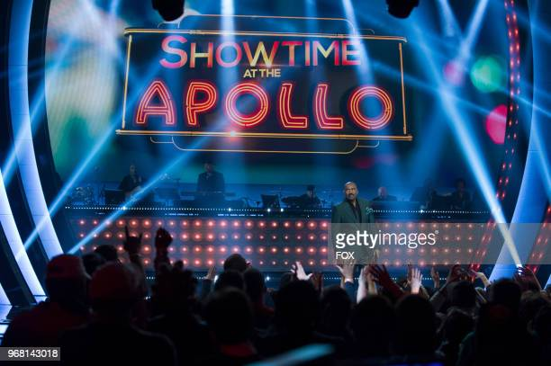 Host Steve Harvey in the Week 8 episode of SHOWTIME AT THE APOLLO airing Thursday April 19 on FOX