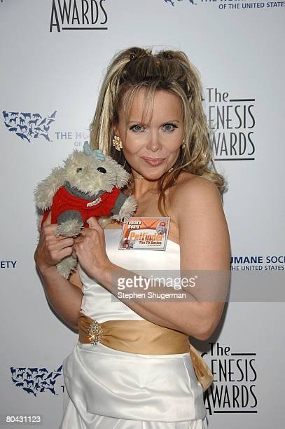 TV host Tamara Henry attends the 22nd annual Genesis Awards at the Beverly Hilton March 29 2008 in Beverly Hills California