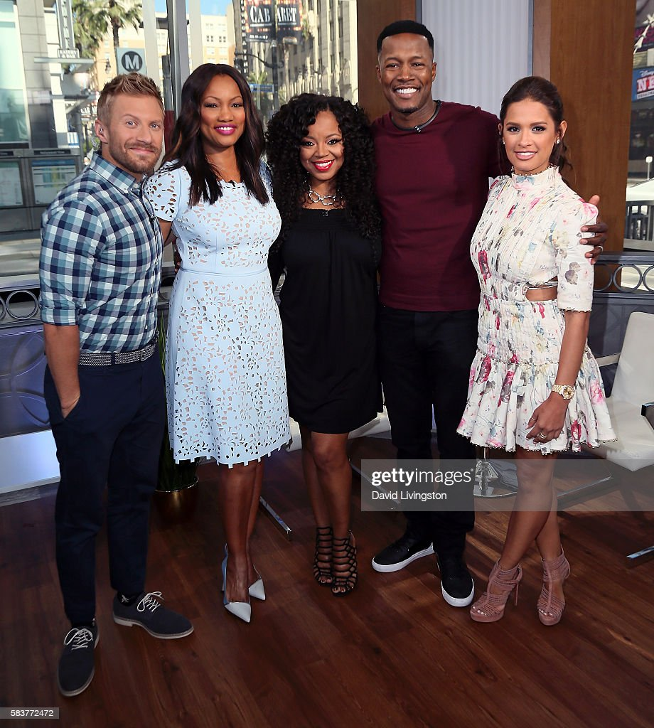 Mira Sorvino, Flex Alexander And Shanice Visit Hollywood Today Live
