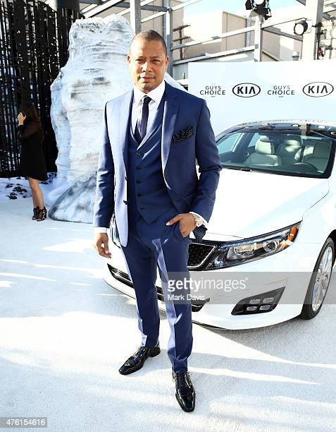 Host Terrence Howard attends Spike TV's Guys Choice 2015 at Sony Pictures Studios on June 6 2015 in Culver City California
