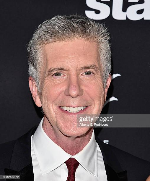 TV host Tom Bergeron attends ABC's Dancing With The Stars Season 23 Finale at The Grove on November 22 2016 in Los Angeles California