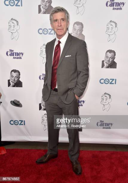 TV host Tom Bergeron attends the 3rd Annual Carney Awards at The Broad Stage on October 29 2017 in Santa Monica California