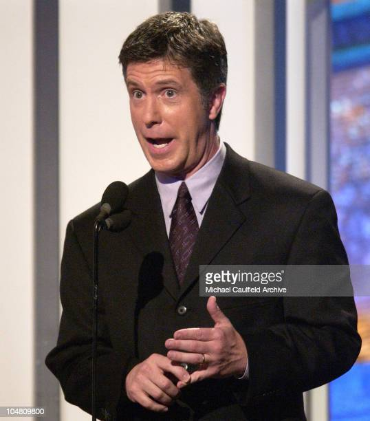 Host Tom Bergeron during The 4th Annual Family Television Awards Show at The Beverly Hilton Hotel in Beverly Hills California United States