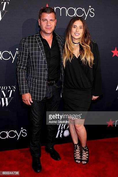 Host Tom Murro attends Macy's Presents Fashion's Front Row on September 7 2016 in New York City