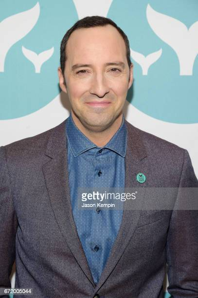Host Tony Hale attends the 9th Annual Shorty Awards at PlayStation Theater on April 23 2017 in New York City