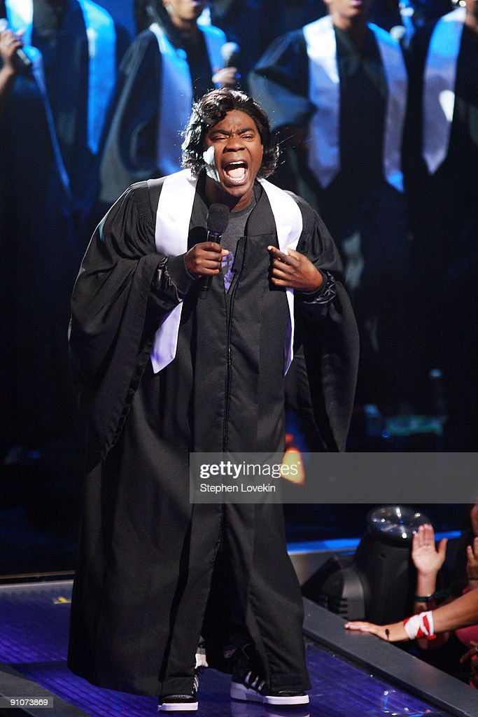 Host Tracy Morgan performs onstage at the 2009 VH1 Hip Hop Honors at the Brooklyn Academy of Music on September 23, 2009 in the Brooklyn borough of New York City.