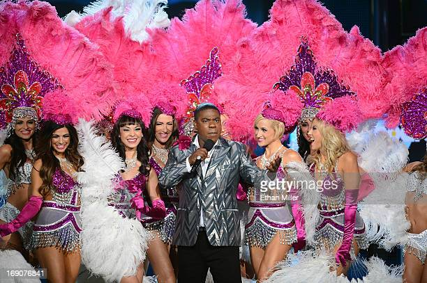 Host Tracy Morgan speaks onstage during the 2013 Billboard Music Awards at the MGM Grand Garden Arena on May 19 2013 in Las Vegas Nevada