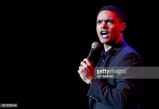 TV host Trevor Noah attends the 11th Annual Stand Up for Heroes at The Theater at Madison Square Garden on November 7 2017 in New York City