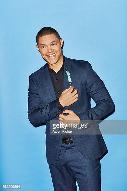TV host Trevor Noah is photographed for The Hollywood Reporter on March 18 2016 in New York City