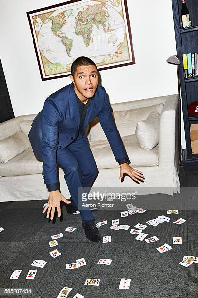 TV host Trevor Noah is photographed for The Hollywood Reporter on March 18 2016 in New York City PUBLISHED IMAGE