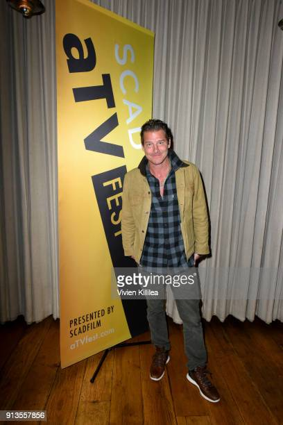 TV host Ty Pennington attends the SCAD aTVfest 2018 x EW Party at Lure on February 2 2018 in Atlanta Georgia