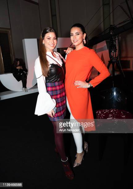TV Host Vanessa Arturo attends Jordan Fashion Week 019 on March 30 2019 at the Kempinski Amman in Amman Jordan