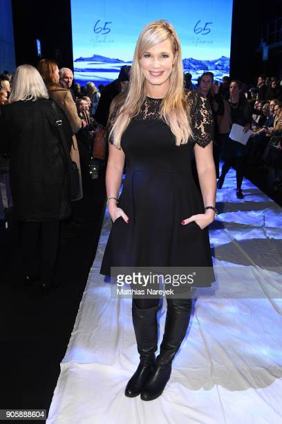 Host Verena Wriedt attends the Sportalm show during the MBFW Berlin January 2018 at ewerk on January 17 2018 in Berlin Germany