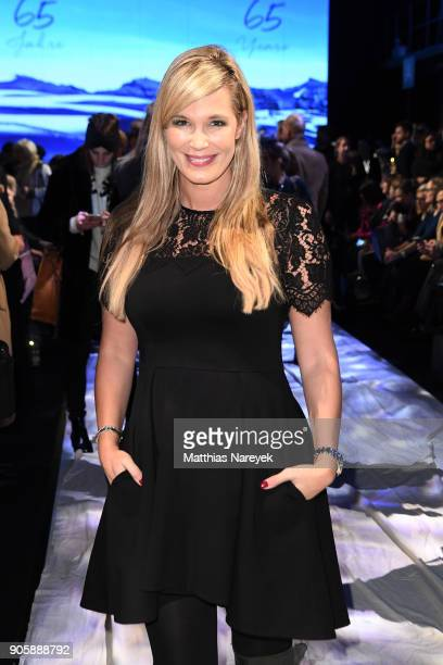 TV Host Verena Wriedt attends the Sportalm show during the MBFW Berlin January 2018 at ewerk on January 17 2018 in Berlin Germany
