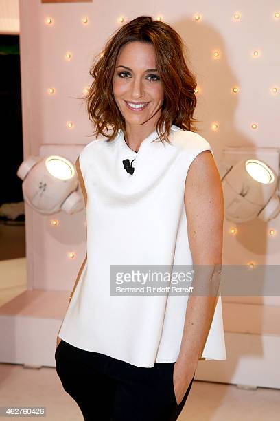 Host Virginie Guilhaume presents the 30th anniversary of 'Victoires de la Musique' wich she will host on 2015 february 13 during the 'Vivement...