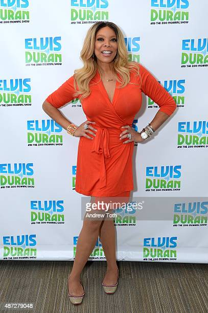 TV host Wendy Williams poses for a photo during The Elvis Duran Z100 Morning Show at Z100 Studio on September 8 2015 in New York City