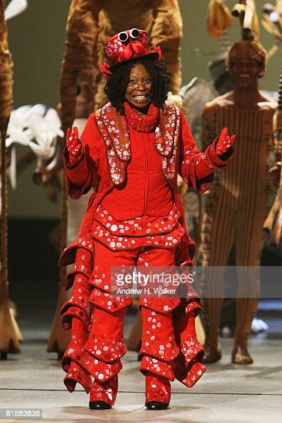 Host Whoopi Goldberg onstage during the 62nd Annual Tony Awards held at Radio City Music Hall on June 15 2008 in New York City
