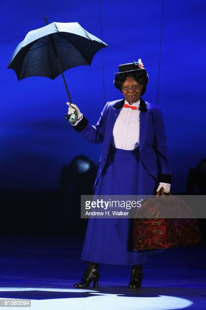 Host Whoopi Goldberg performs onstage during the 62nd Annual Tony Awards held at Radio City Music Hall on June 15 2008 in New York City