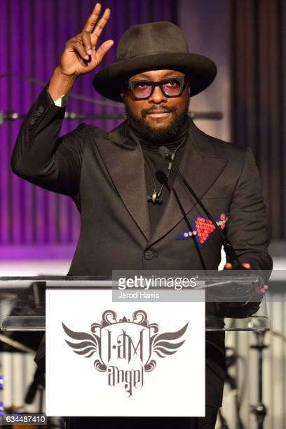 Host william speaks onstage during william's iamangel Foundation TRANS4M 2017 Gala at Milk Studios on February 9 2017 in Hollywood California