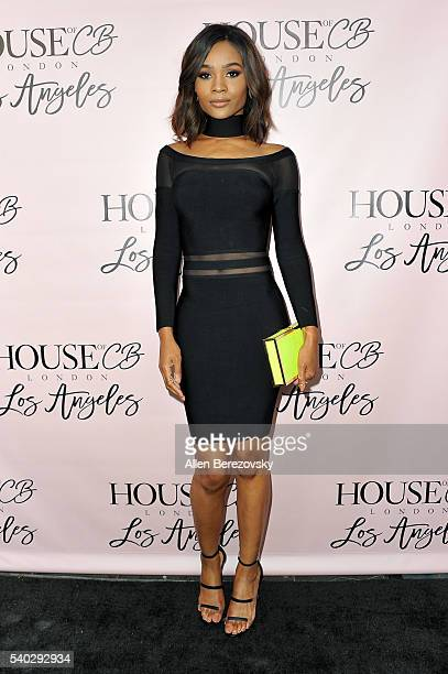 TV host Zuri Hall attends the House of CB Flagship Store Launch party at the House of CB on June 14 2016 in West Hollywood California