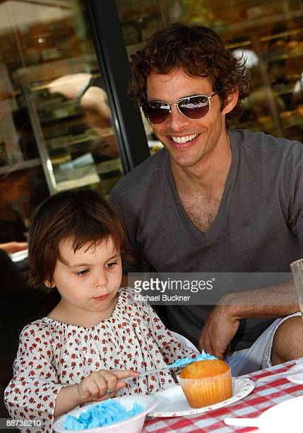 Host/actor James Marsden and daughter Mary James Marsden attend the EB Medical Research Foundation picnic presented by Sinupret for Kids and Yogen...
