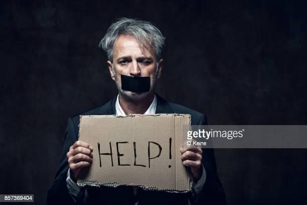 hostage - mafia foto e immagini stock