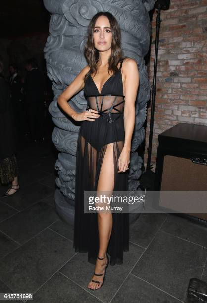 TV host/blogger Louise Roe attends The Weinstein Company's Academy Awards viewing and after party in partnership with Grey Goose at TAO Los Angeles...