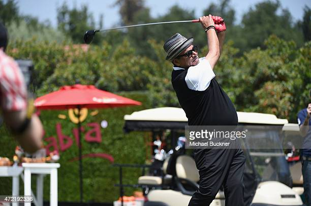 Host/comedian George Lopez attended the 8th Annual George Lopez Celebrity Golf Classic presented by Sabra Salsa to benefit The George Lopez...