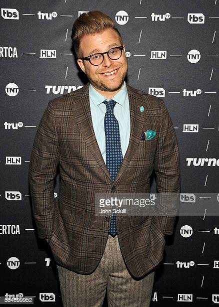 Host/Creator Adam Conover of 'Adam Ruins Everything' attends the TCA Turner Summer Press Tour 2016 Presentation at The Beverly Hilton Hotel on July...