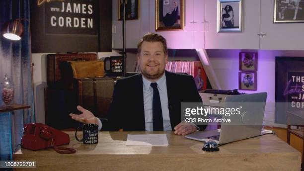 S LATE LATE SHOW SPECIAL hosted by James Corden will be broadcast Monday March 30 on the CBS Television Network Photo is a screen grab