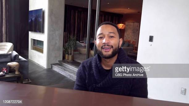 S LATE LATE SHOW SPECIAL hosted by James Corden will be broadcast Monday March 30 on the CBS Television Network Featuring John Legend performing in...
