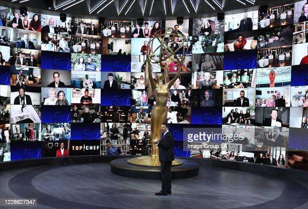 EMMY® AWARDS Hosted by Jimmy Kimmel the 72nd Emmy® Awards will broadcast SUNDAY SEPT 20 on ABC via Getty Images JIMMY