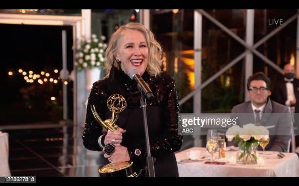 "Hosted by Jimmy Kimmel, the ""72nd Emmy® Awards"" will broadcast SUNDAY, SEPT. 20 , on ABC. CATHERINE OHARA"