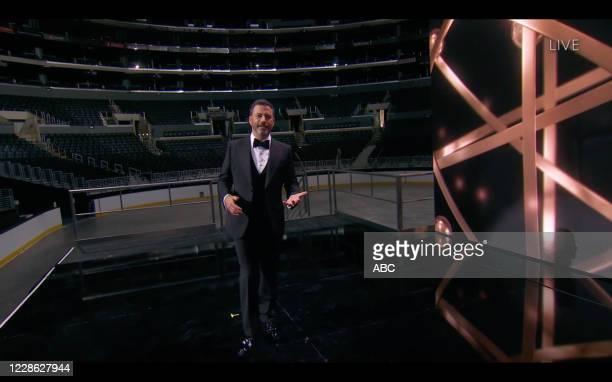 """Hosted by Jimmy Kimmel, the """"72nd Emmy® Awards"""" will broadcast SUNDAY, SEPT. 20 , on ABC. JIMMY KIMMEL"""