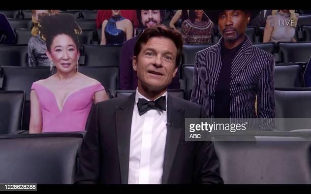 """Hosted by Jimmy Kimmel, the """"72nd Emmy® Awards"""" will broadcast SUNDAY, SEPT. 20 , on ABC. JASON BATEMAN"""