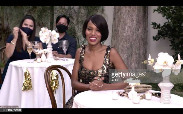 "Hosted by Jimmy Kimmel, the ""72nd Emmy® Awards"" will broadcast SUNDAY, SEPT. 20 , on ABC. KERRY WASHINGTON"
