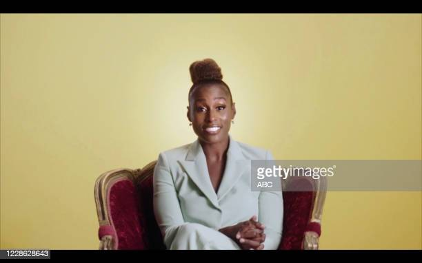 """Hosted by Jimmy Kimmel, the """"72nd Emmy® Awards"""" will broadcast SUNDAY, SEPT. 20 , on ABC. ISSA RAE"""