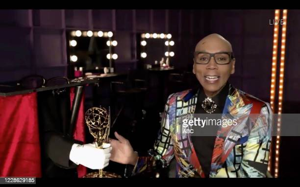 """Hosted by Jimmy Kimmel, the """"72nd Emmy® Awards"""" will broadcast SUNDAY, SEPT. 20 , on ABC. RUPAUL"""