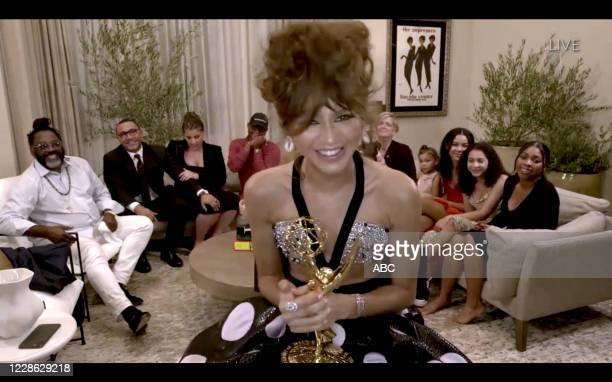 "Hosted by Jimmy Kimmel, the ""72nd Emmy® Awards"" will broadcast SUNDAY, SEPT. 20 , on ABC. ZENDAYA"