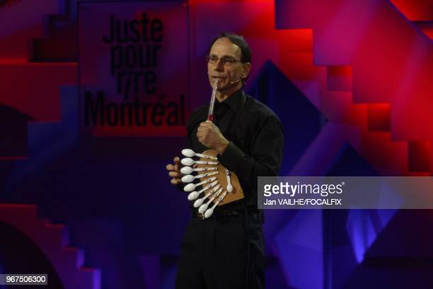 Hosted by Quebecer comedian Marc Labreche lead actor in the Denys Arcand's movie L'age des tenebres' this Just for Laughs show features some French...