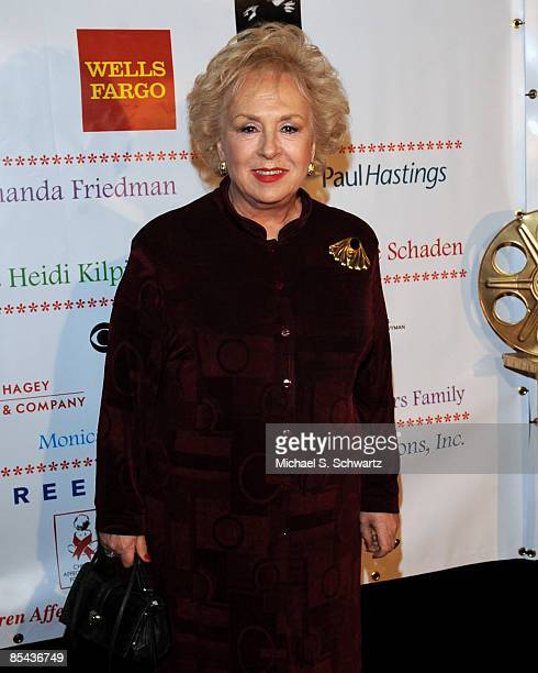 """Hostess Doris Roberts attends """"A Night Of Comedy VII"""" Benefiting The Children Affected By AIDS Foundation at The Wilshire Theatre on March 14, 2009..."""