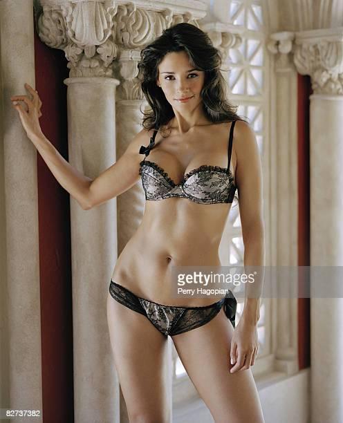 TV hostess Dorismar poses at a portrait session in Miami Fl