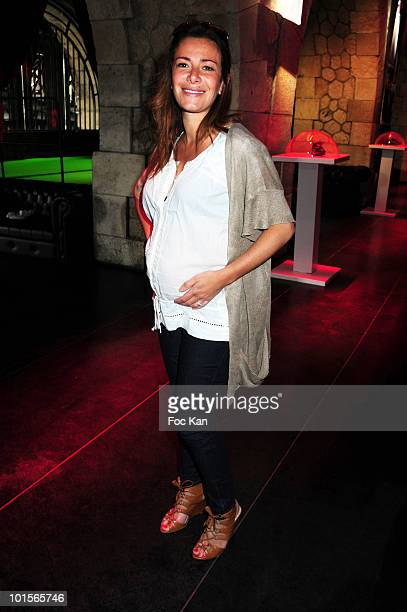 TV hostess Elsa Fayer attends the Reebok Easy Tone Shoes Launch at the Show Case on May 18 2010 in Paris France