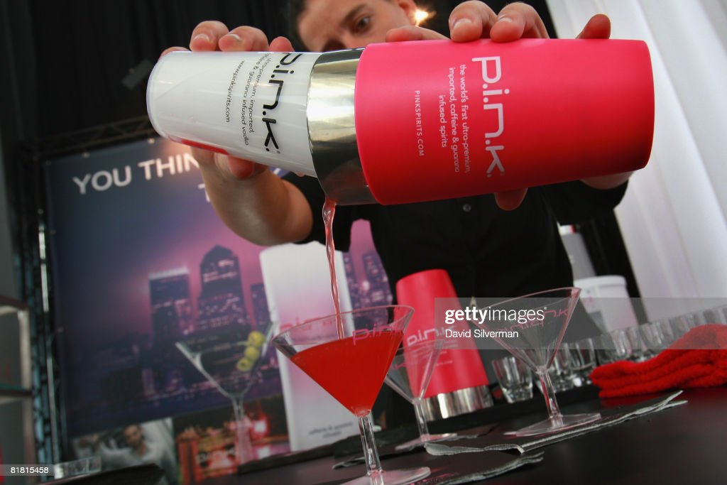 A hostess prepares a vodka cranberry cocktail at the first Barman's festival held for food and drink professionals on July 1, 2008 in Tel Aviv, Israel. For three nights, Israel's bar and restaurant staff were treated to cocktails and testing's of some of the best imported vodkas, whiskies and beers imported into the Jewish State.