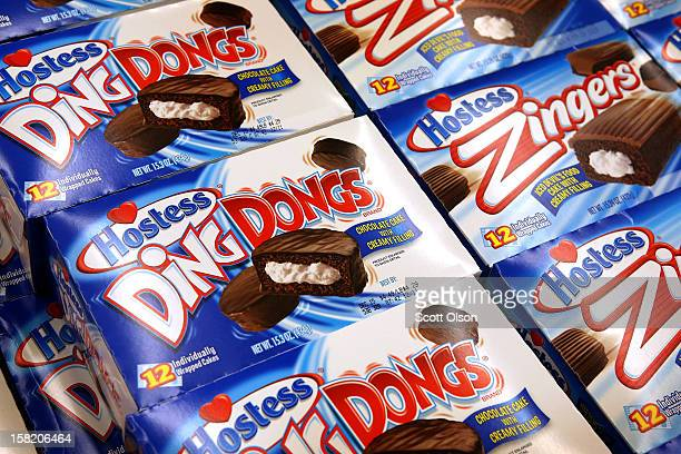Hostess snacks are offered for sale at a JewelOsco grocery store on December 11 2012 in Chicago Illinois The JewelOsco grocery store chain purchased...