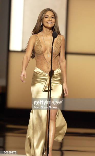 Hostess Vanessa Marcil takes the stage at The 31st Annual Daytime Emmy Awards