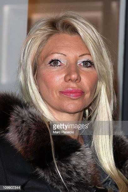 TV hostess/model Nadine Rodd aka Nadine Bronx attends the 'Gerard Darel' flagship opening on March 9 2011 in Paris France