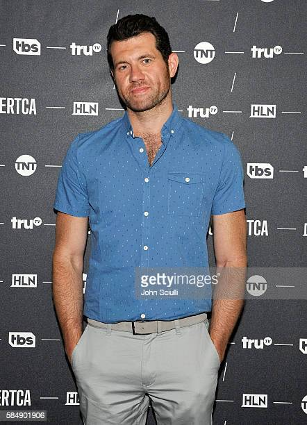 Host/executive producer Billy Eichner of Billy on the Street attends the TCA Turner Summer Press Tour 2016 Presentation at The Beverly Hilton Hotel...